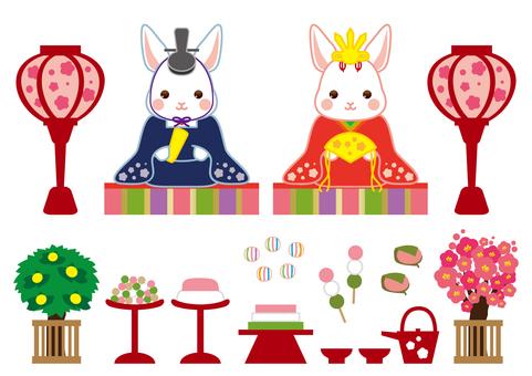 Rabbit's doll