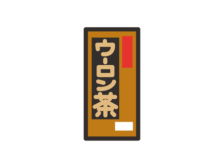 Oolong tea paper pack