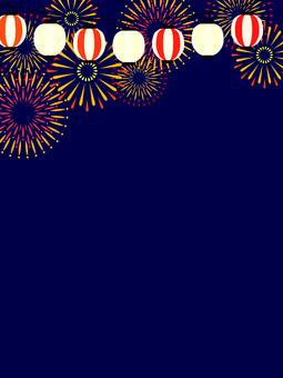 Summer festival image background (vertical)