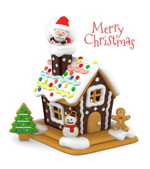 Christmas Santa and Sweet Home 3D