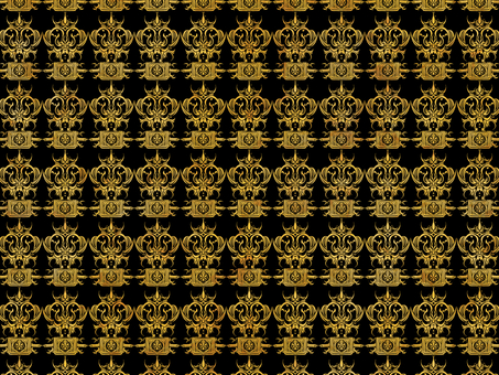 Antique material gold