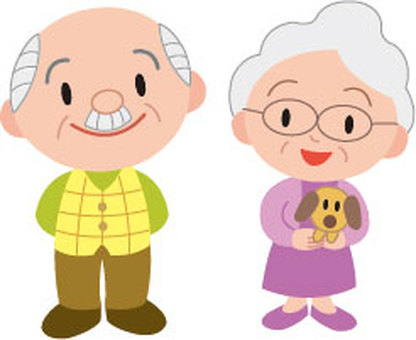 Elderly couple 2