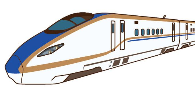 Hokuriku Shinkansen E 7 series Kagayaki
