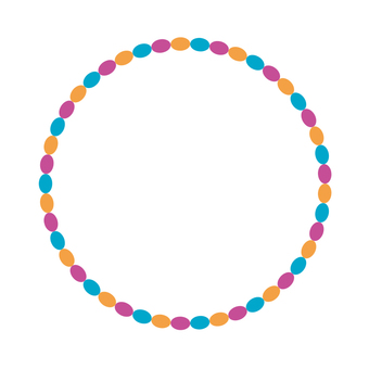 Circular material -223
