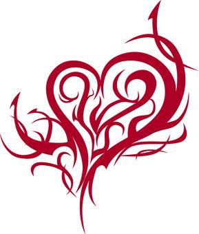 Heart Tribal
