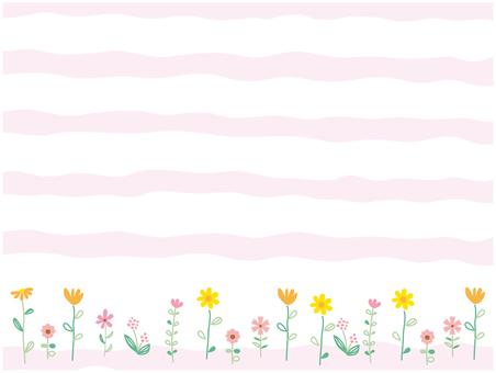 Flower field pink 2