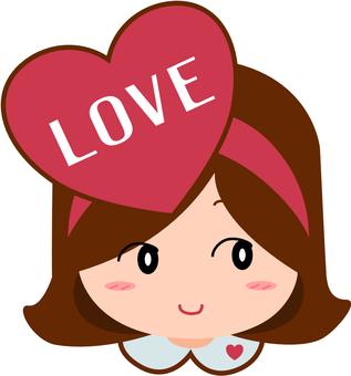 Valentine's girl 3