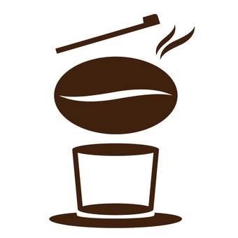 원두 커피 로고