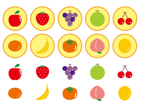 Fruit icon simple