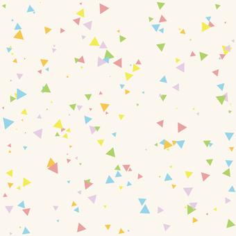 カラフルパターン-三角ランダム