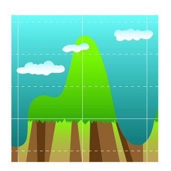 지형의 곡선 그래프