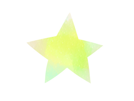 Watercolor star ver01