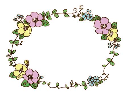 Flower frame 7