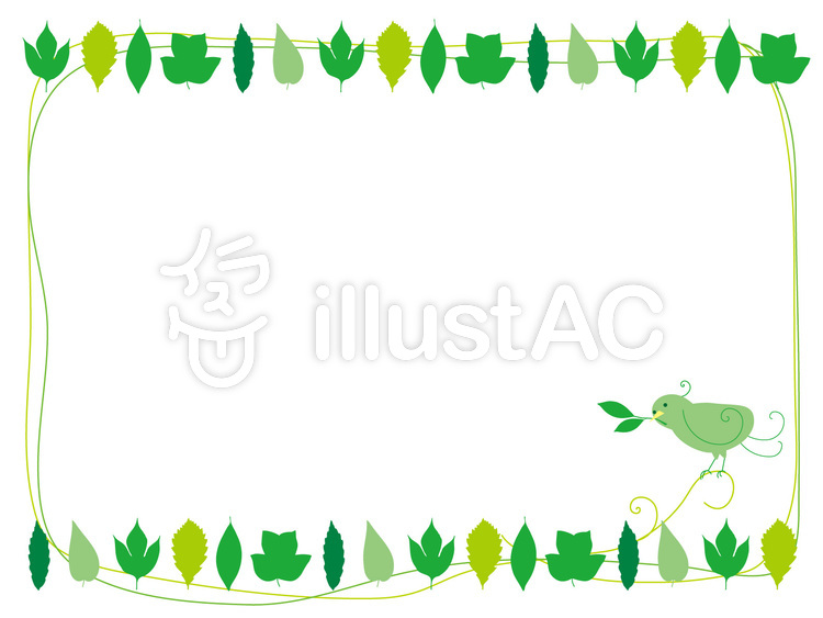 Free Cliparts : natural frame background - 226177 | illustAC