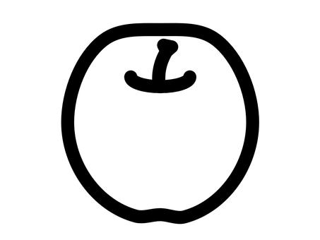 Apple simple icon