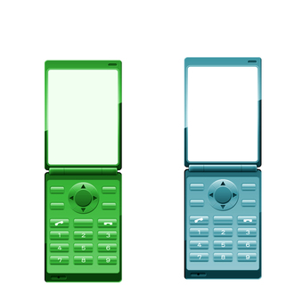 Mobile phone (two fold) Green system