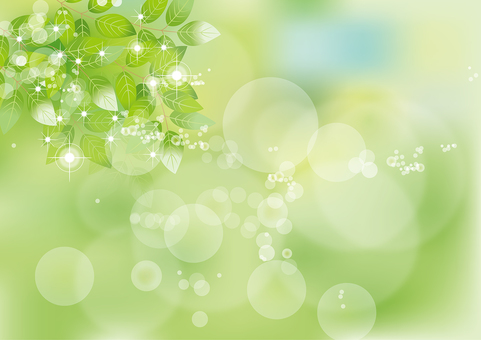 Glittering leaves 7
