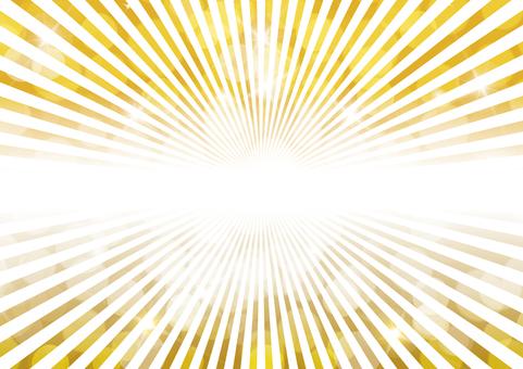 Gold sparkling 10