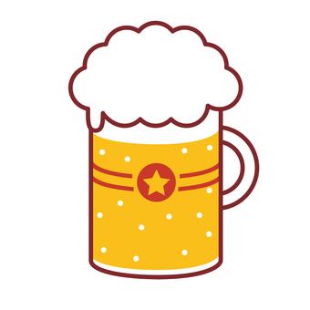 馬克杯啤酒生啤酒