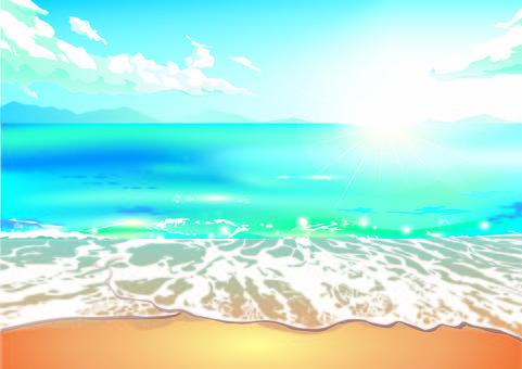 아무도없는 바다