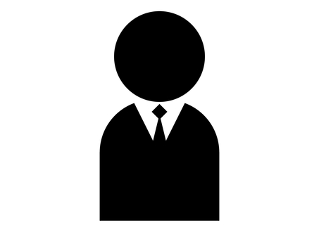 People Silhouette Suit 1 person