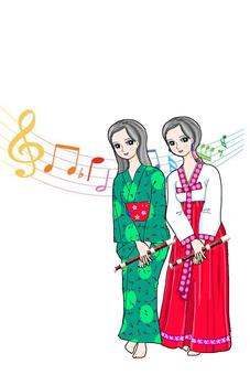 Harmony duet
