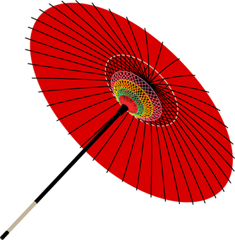 And red umbrella _ _ single