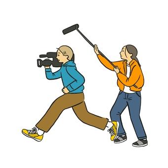 TVman shooting