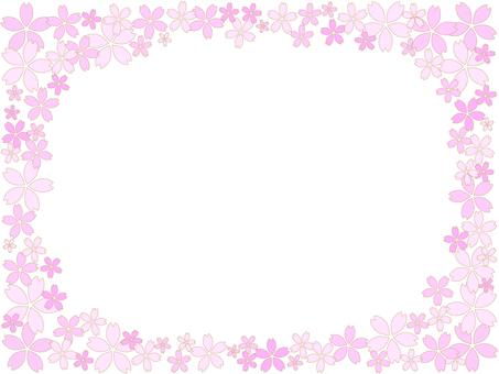Cherry Blossom Frame 3