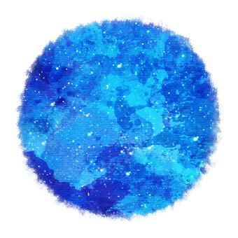 Watercolor circle 4