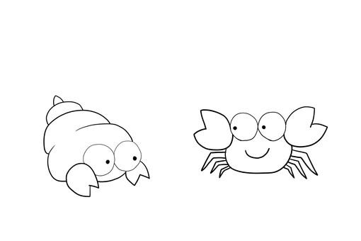 Crab and Yakari