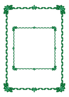 Frame (rusty copper)
