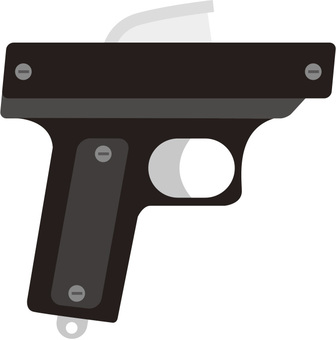 Sports game gun (starter pistol)