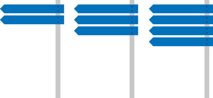 Logo · road sign · direction indicator