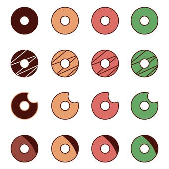 迷你甜甜圈各種設置