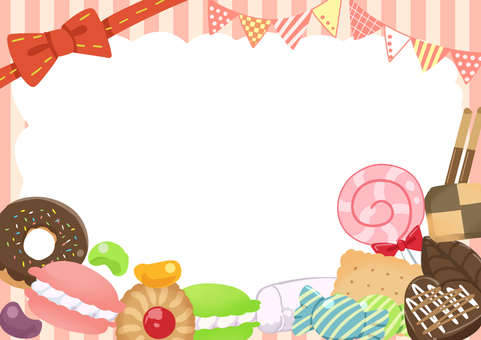 Confectionery Frame (Pink)