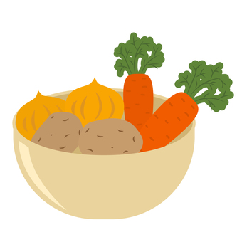 Vegetables in a bowl _ 02