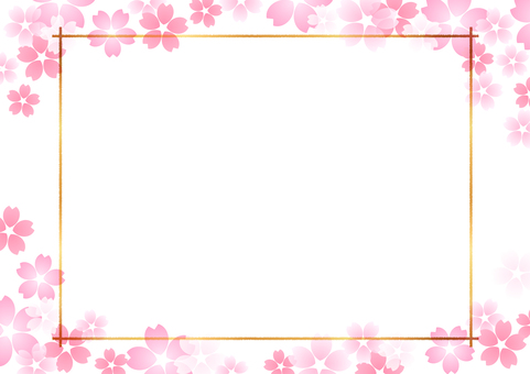 Cherry blossom material 347
