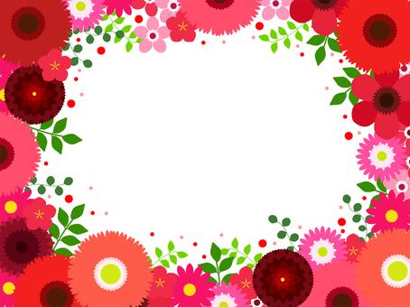 꽃 프레임 56