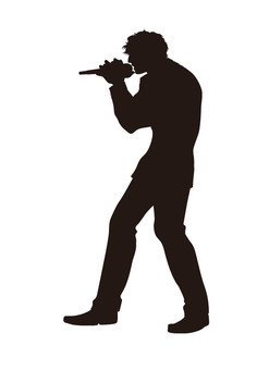 Vocal Silhouette 3