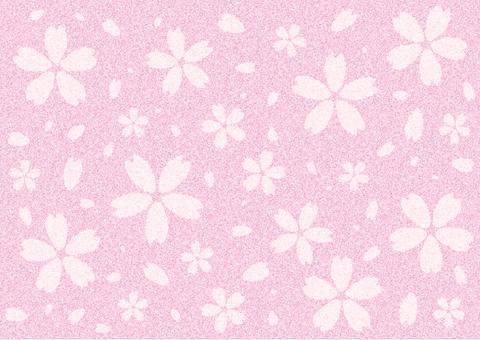 Cherry blossom background (dark pink)