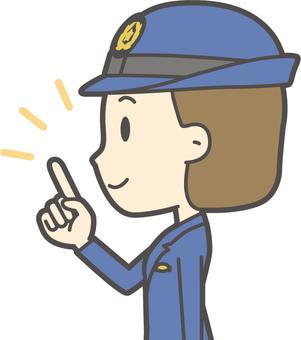 Female Police Officer-225-Bust
