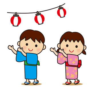 Bon Odori and children