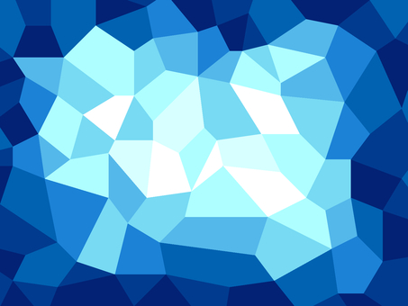 Polygonal background material / blue a
