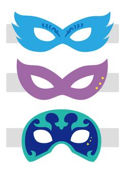 Kamen martial arts association mask