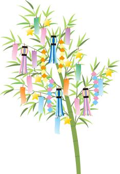 Tanabata ornament transparent ant