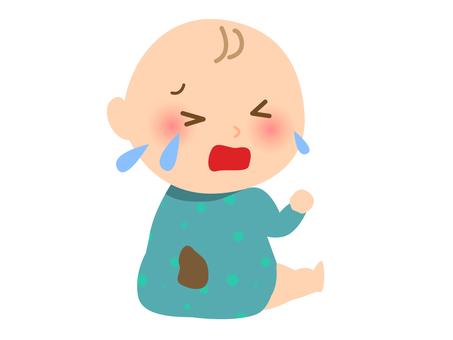 赤ちゃん おむつ漏れ