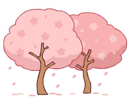 树(春天)