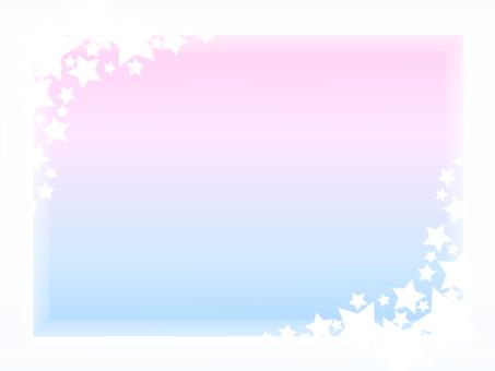 Stellar frame background