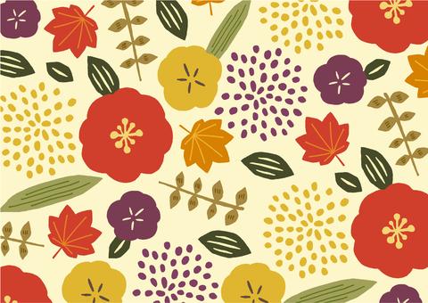 Flower texture Fall